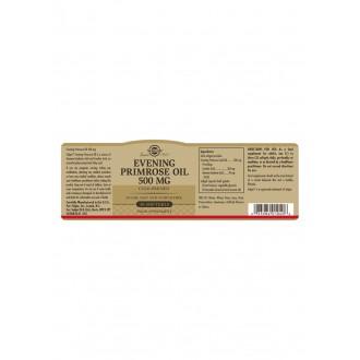 Solgar Pupalkový olej 500mg