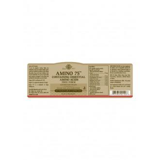 Solgar Amino 75 - aminokyseliny