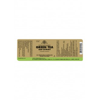 Solgar Green tea – Zelený čaj