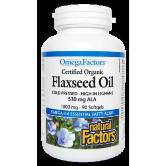 Omega 3-6-9 lněný olej 1000mg 90cps