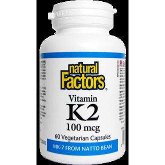 Vitamin K2 100 mcg 60cps