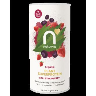 Naturya Bio Protein – Acai a jahoda 210 g