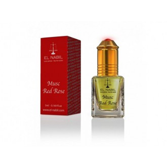 El Nabil - Musc Red Rose - Parfémový olej - Dámský -5ml