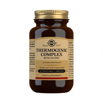 Solgar Thermogenic complex - VÝPRODEJ datum minimální spotřeby 8/20