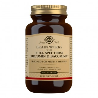 Solgar Brain Works 60 cps
